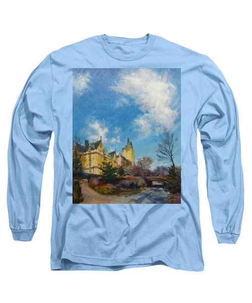 The Bridle Path, Central Park Long Sleeve T-Shirt