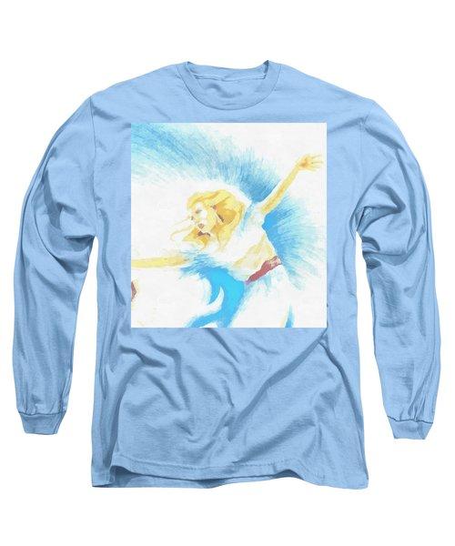 The Dancer Long Sleeve T-Shirt by Mario Carini