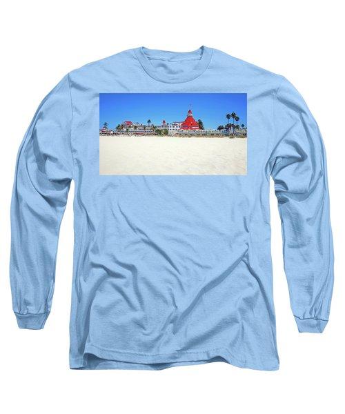 The Del Coronado Hotel San Diego California Long Sleeve T-Shirt