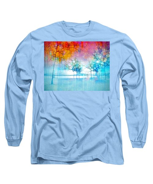 The Departing Trees Long Sleeve T-Shirt