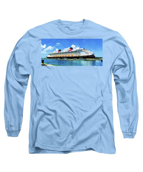 The Disney Dream In Nassau Long Sleeve T-Shirt