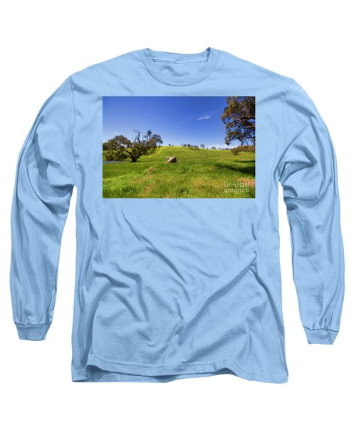 The Distant Hill Long Sleeve T-Shirt by Douglas Barnard