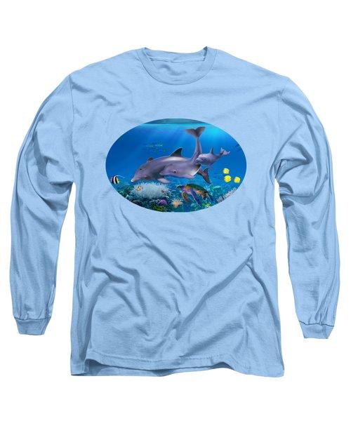 The Dolphin Family Long Sleeve T-Shirt