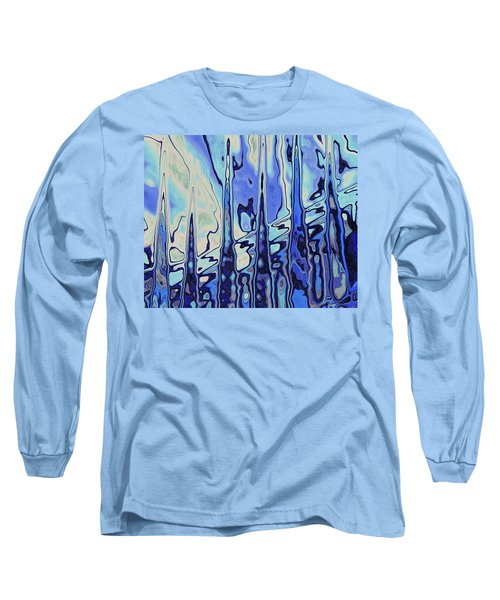 Long Sleeve T-Shirt featuring the digital art The Drowsy Conversation by Wendy J St Christopher