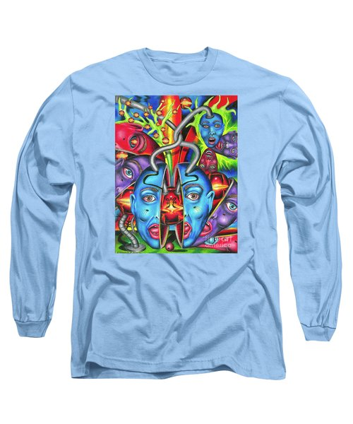 The Esoteric Force Of Molecular Mentality Long Sleeve T-Shirt