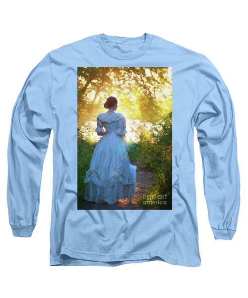 The Evening Walk Long Sleeve T-Shirt by Lee Avison