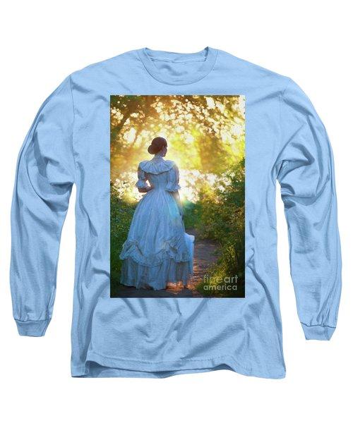 The Evening Walk Long Sleeve T-Shirt by Lee Avison