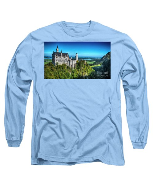 The Fairy Tale Castle Long Sleeve T-Shirt by Pravine Chester