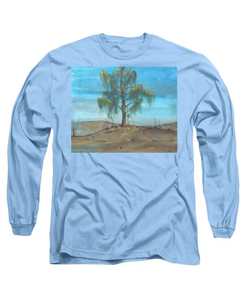 The Feather Tree Long Sleeve T-Shirt by Pat Purdy