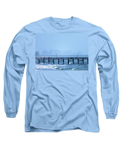 Long Sleeve T-Shirt featuring the photograph The Fog And Swirling Waters by Cathy Harper