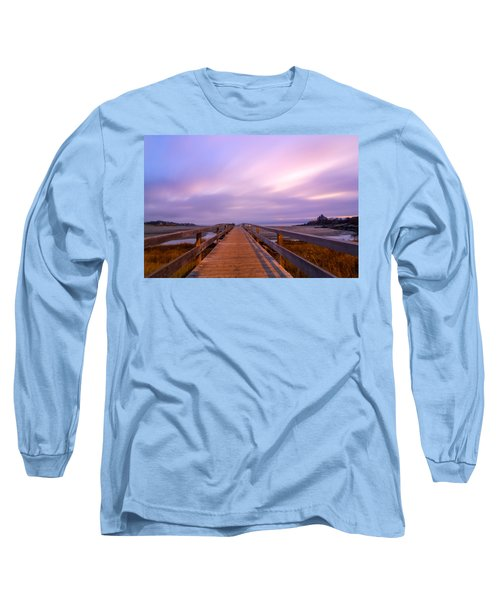 The Footbridge Good Harbor Beach Long Sleeve T-Shirt