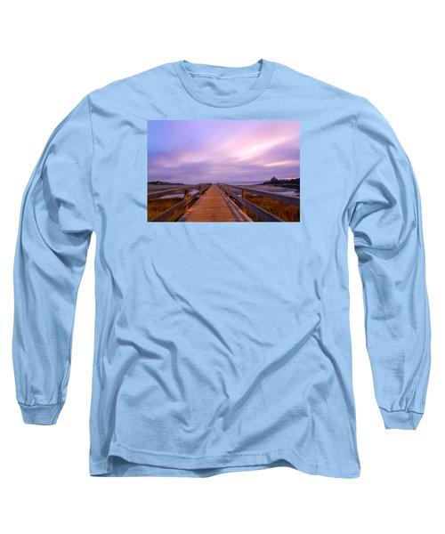 The Footbridge Good Harbor Beach Long Sleeve T-Shirt