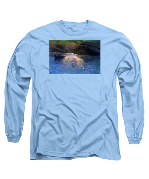 The Gathering Long Sleeve T-Shirt by Ed Hall