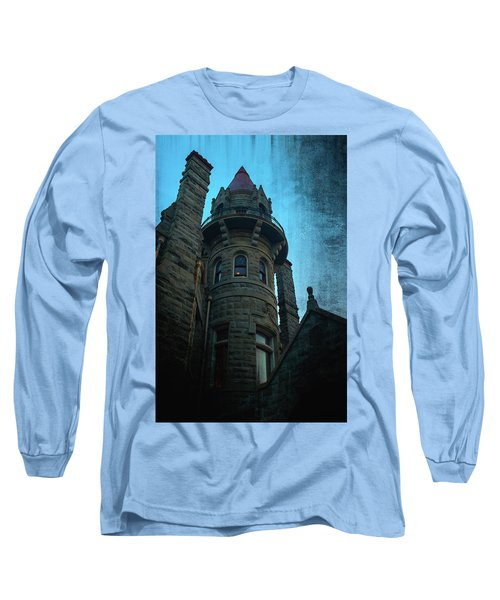 The Haunted Tower Long Sleeve T-Shirt by Keith Boone