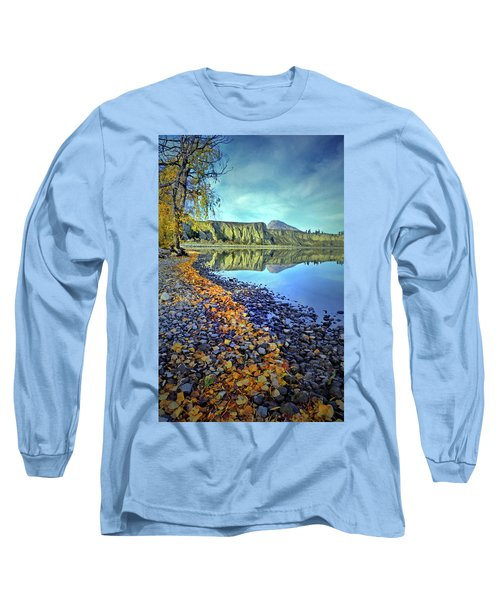 Long Sleeve T-Shirt featuring the photograph The Hoodoos And Highway 97 by Tara Turner