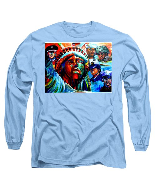 The Land Of The Free  Long Sleeve T-Shirt