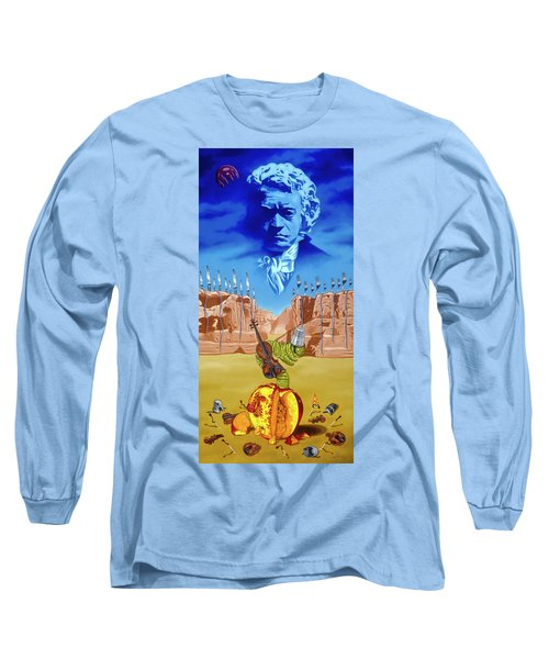 The Last Soldier An Ode To Beethoven Long Sleeve T-Shirt