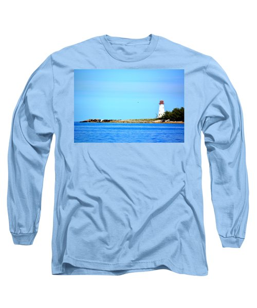 The Lighthouse At Sea Long Sleeve T-Shirt