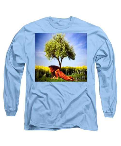 The Lion, The King Long Sleeve T-Shirt by Belinda Threeths