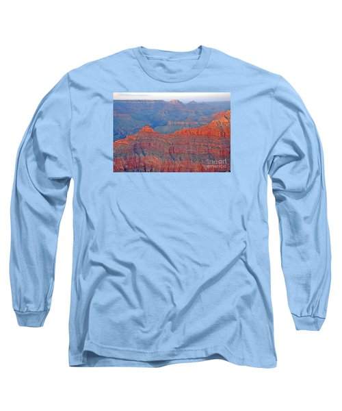 Long Sleeve T-Shirt featuring the photograph The Mighty Grand Canyon by Nick  Boren