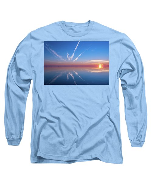 Long Sleeve T-Shirt featuring the photograph The Mirror by Thierry Bouriat