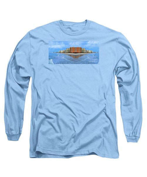 The Mirrors Of Your Mind Long Sleeve T-Shirt by Kathy Baccari
