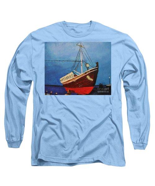The Mykonos Boat Long Sleeve T-Shirt