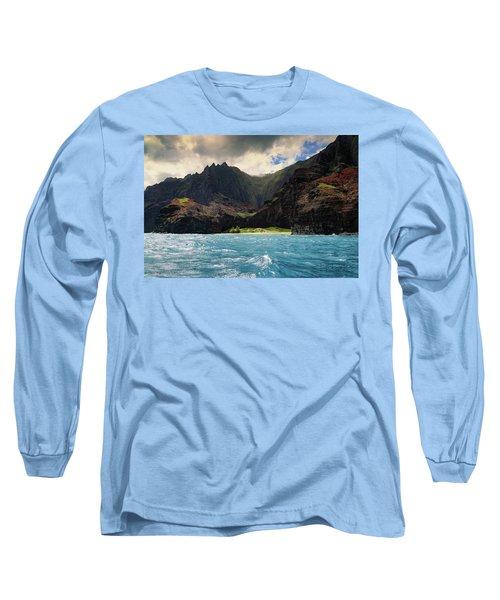 The Napali Coast Long Sleeve T-Shirt