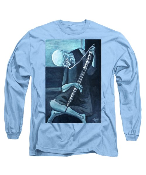 The Old Kloonhornist Long Sleeve T-Shirt by Tom Carlton
