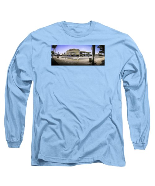 The Old Myrtle Beach Pavilion Long Sleeve T-Shirt by David Smith