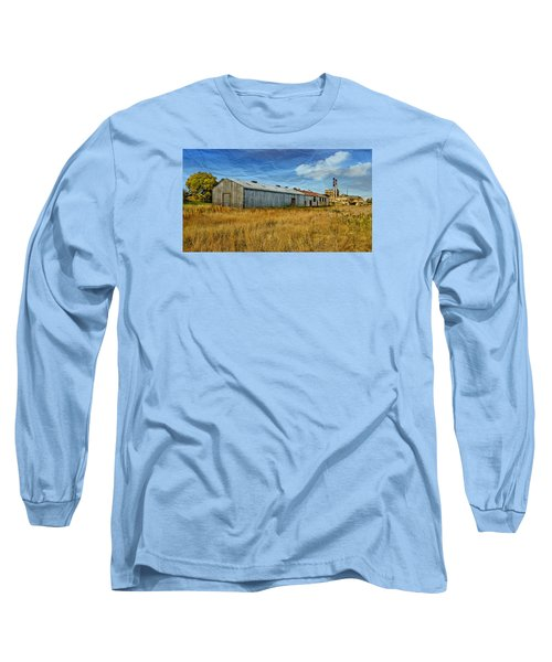 Long Sleeve T-Shirt featuring the photograph The Old Peters Factory 01 by Kevin Chippindall
