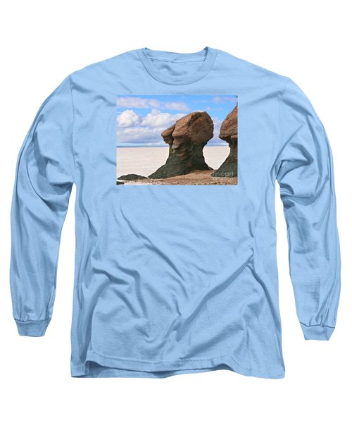 The Old Wise One Long Sleeve T-Shirt by Heather King