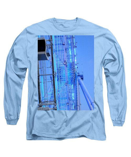Long Sleeve T-Shirt featuring the photograph The Orlando Eye 002 by Chris Mercer
