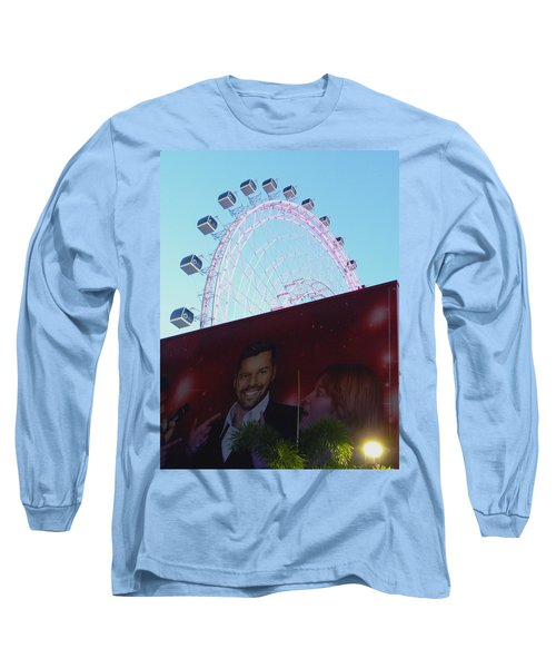 Long Sleeve T-Shirt featuring the photograph The Orlando Eye by Chris Mercer
