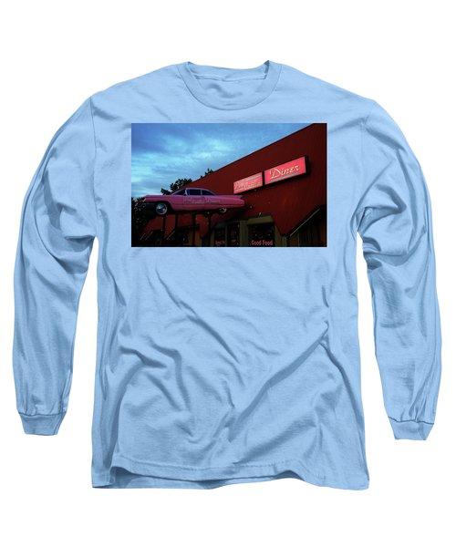 The Pink Cadillac Diner Long Sleeve T-Shirt