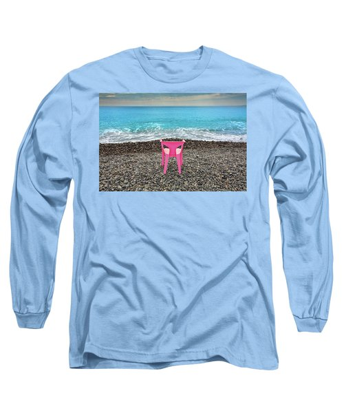 The Pink Chair Long Sleeve T-Shirt