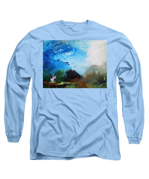 The Prayer In The Garden Long Sleeve T-Shirt by Kume Bryant