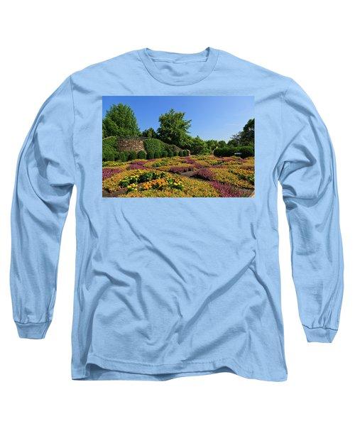 The Quilt Garden Long Sleeve T-Shirt