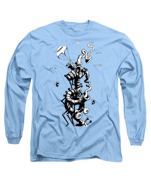 The Rat Penthouse Long Sleeve T-Shirt by Kim Gauge