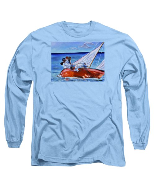 The Red Boat Long Sleeve T-Shirt