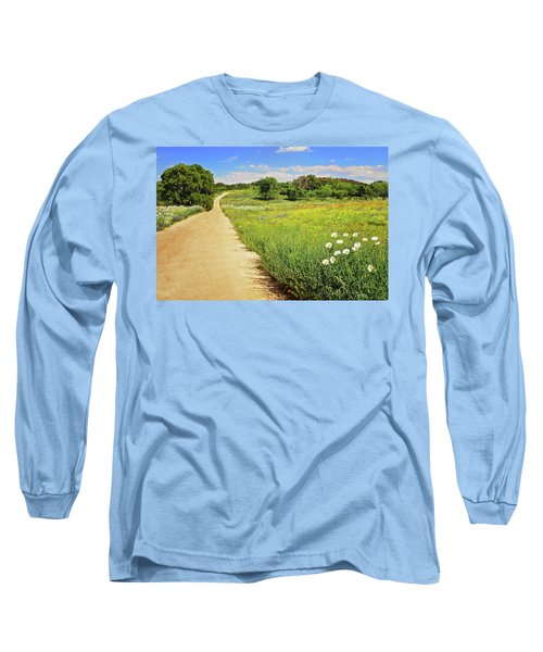 The Road Home Long Sleeve T-Shirt by Lynn Bauer