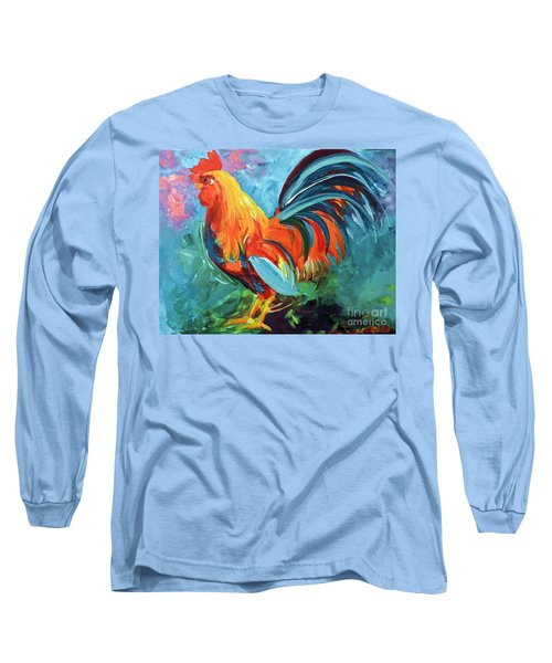 The Rooster Long Sleeve T-Shirt by Tom Riggs