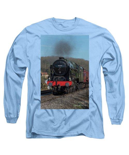 The Royal Scot 1 Long Sleeve T-Shirt by David  Hollingworth