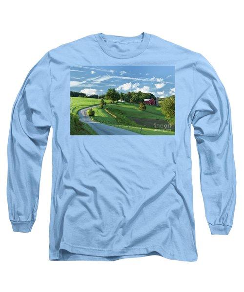 The Rudy Farm Long Sleeve T-Shirt by Nicki McManus