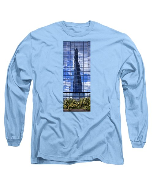 The Shard Long Sleeve T-Shirt by Shirley Mitchell