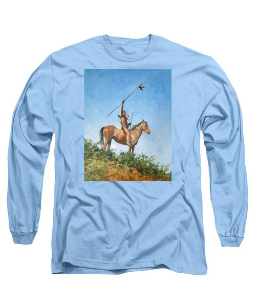 The Signal Long Sleeve T-Shirt by Connie Schaertl