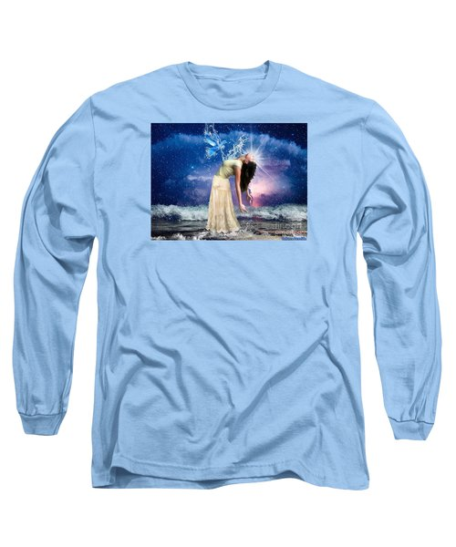 Long Sleeve T-Shirt featuring the digital art The Spirit Of Truth by Dolores Develde
