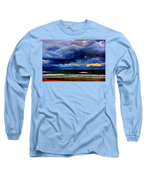 The Storm Roles In Long Sleeve T-Shirt by Blair Stuart