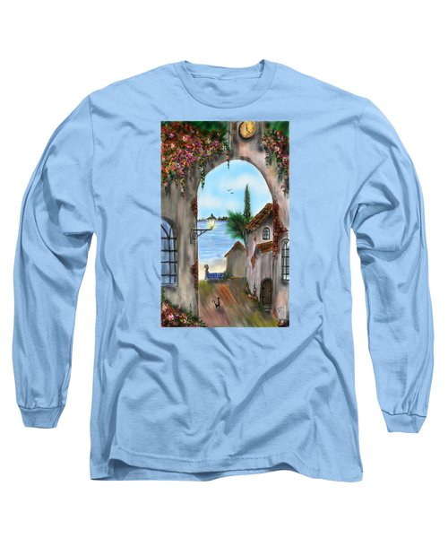 The Street Long Sleeve T-Shirt by Darren Cannell