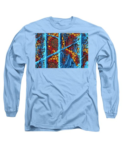The Summer We Went To Blue Tree Long Sleeve T-Shirt